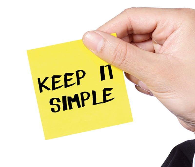 Η Απλότητα είναι το παν!