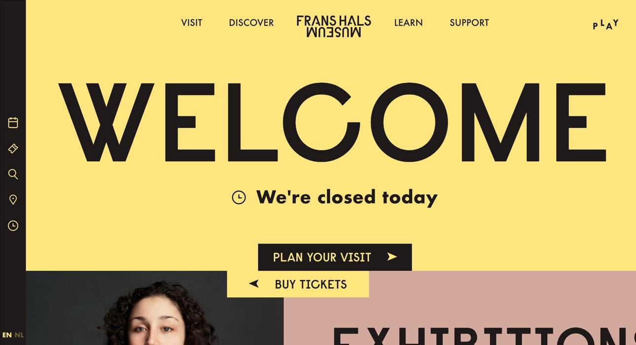 franshals-museum-website